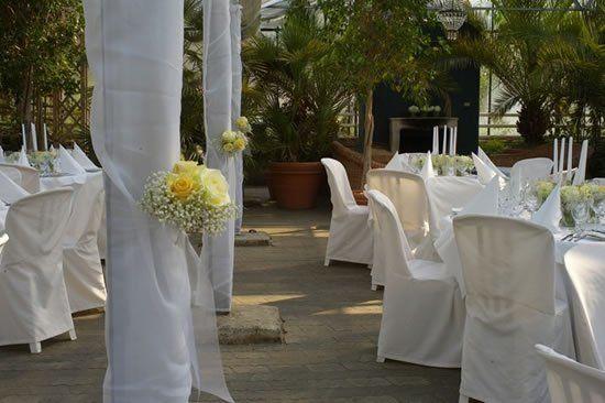 Beispiel: Stilvolles Ambiente zur Hochzeit, Foto: Die Alte Gärtnerei.