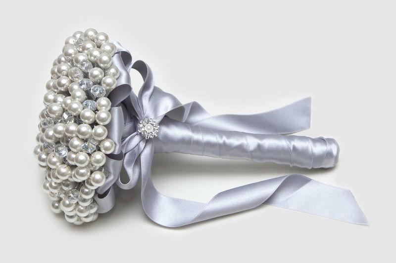 Ramo de novia de perlas