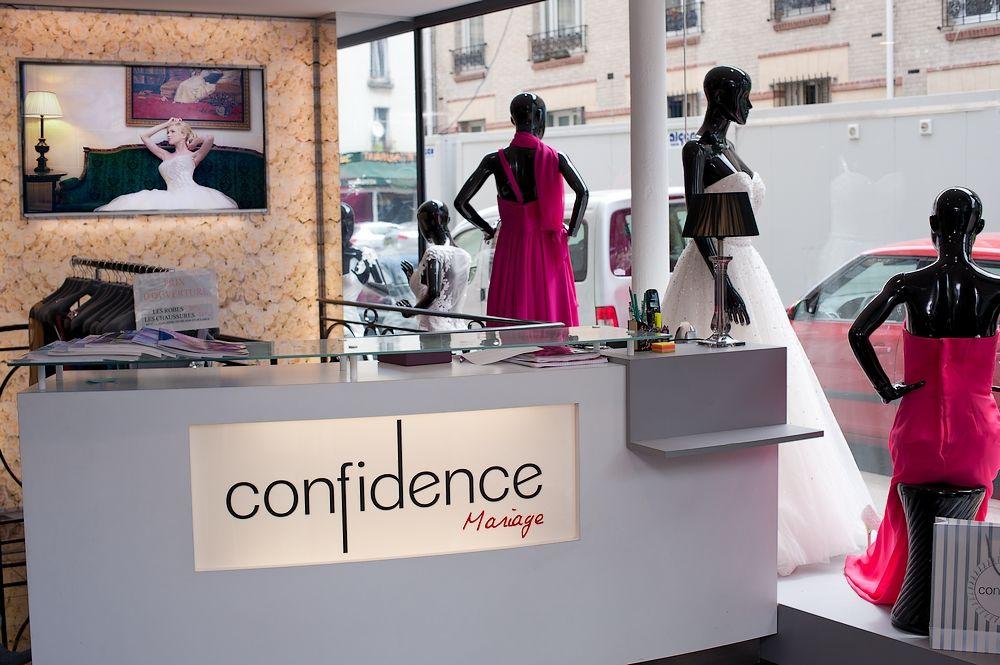 Découvrez votre boutique Confidence Mariage