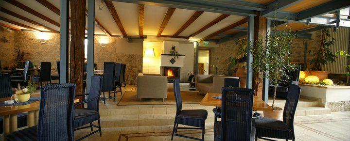 Beispiel: Kaminzimmer, Foto: Romantik Hotel Altes Amtshaus.