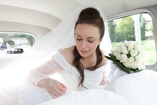 Foto Impressioni - Sposa in auto