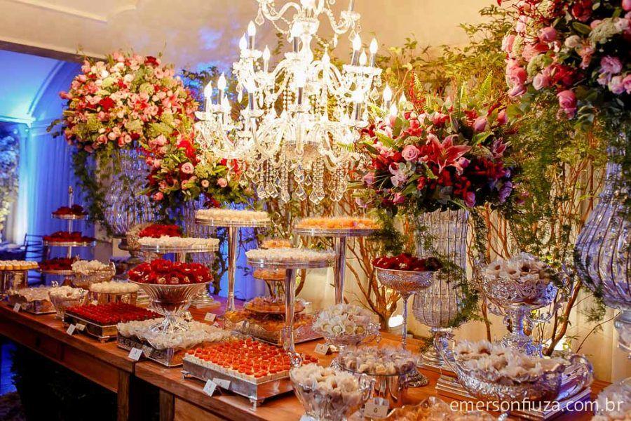 Decoração Arte em flor® - Buffet Ilha do  Mehl