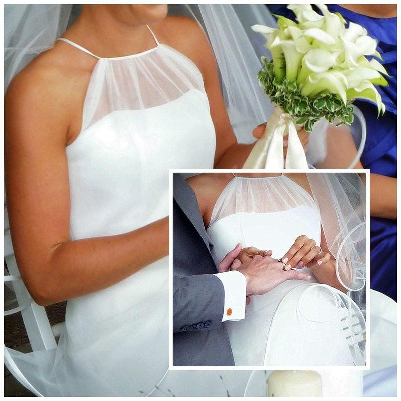 Klassisch-Romantische Trauzeremonie (Humanistisch). Foto: Zeitlose Zeremonie