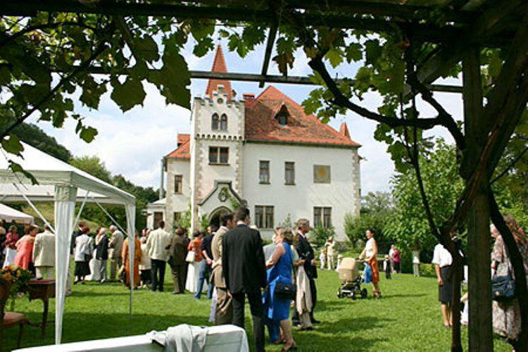 Beispiel: Trauung im Schloss, Foto: Plabutscher Schlössel.