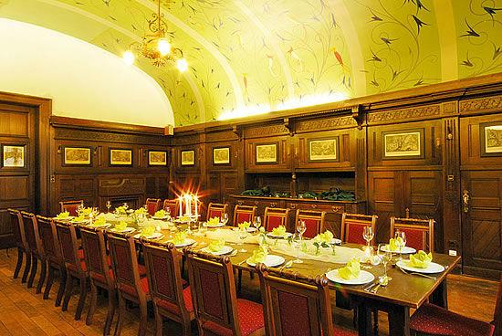 Beispiel: Eindruck von den Räumlichkeiten, Foto: Schloss Garvensburg.