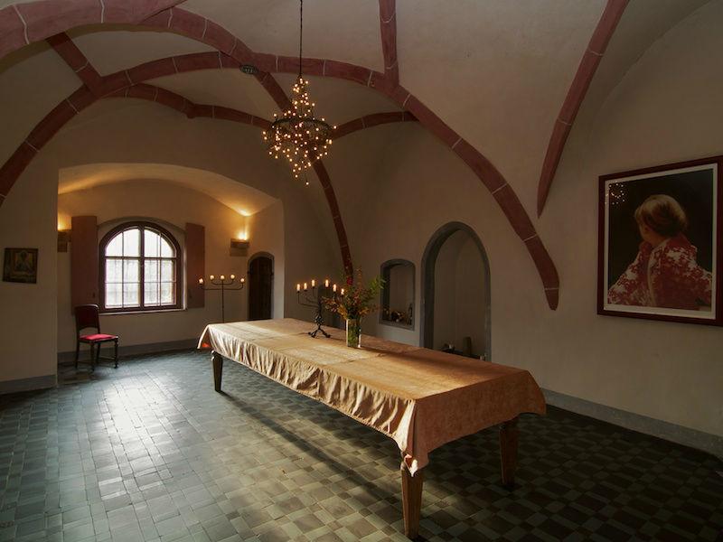 Beispiel: Kapelle, Foto: Schloss Scharfenberg.