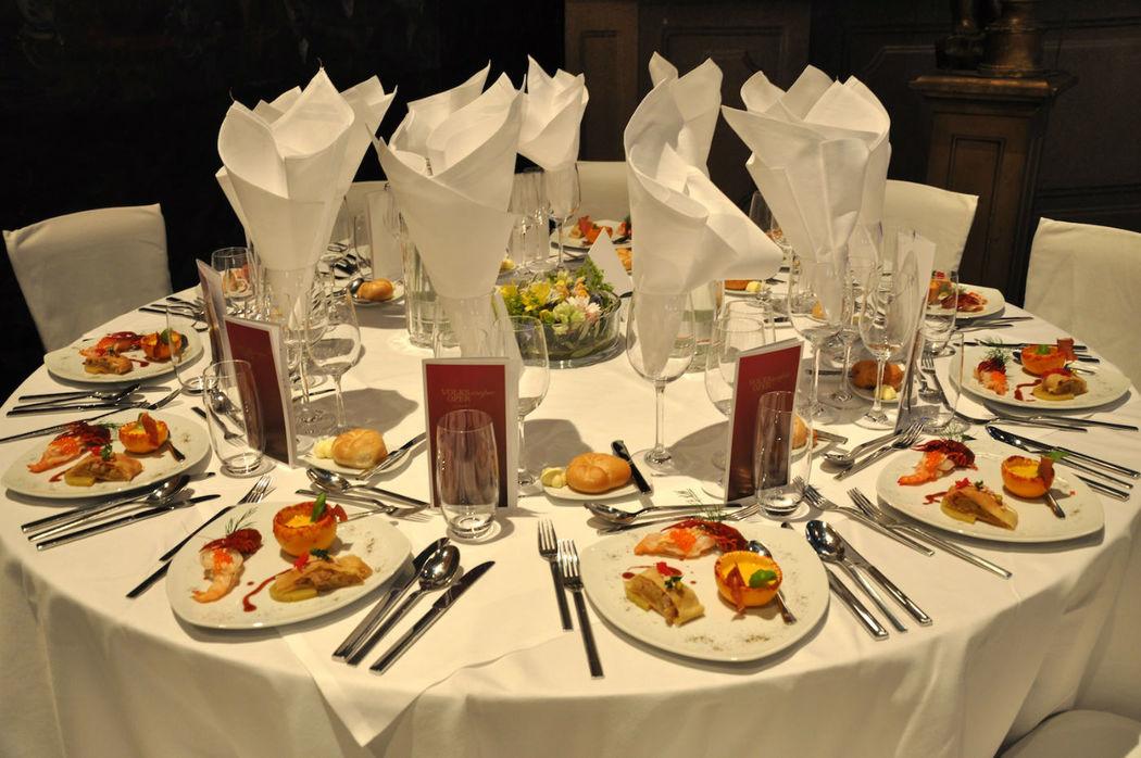 Beispiel: Hochzeitsmenü, Foto: Hotel Regina.