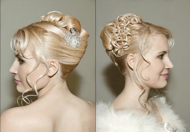 Beispiel: Schönheit für Ihren Hochzeitstag, Foto: Beauty Art Team.