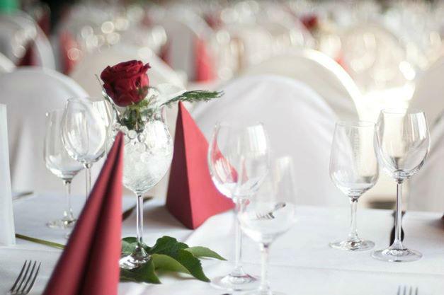 Beispiel: Tischdekoration, Foto: Ball&Brauhaus Watzke.