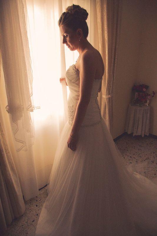 Preparativos en casa de la novia