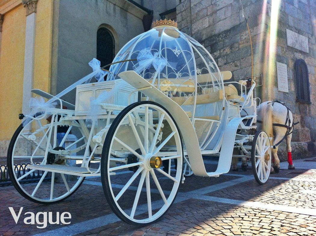 Carrozza Cenerentola Noleggio Matrimoni Monza Como Lecco Milano Bergamo
