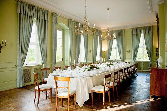 Beispiel: Erdgeschoss - Speisezimmer, Foto: Hardenbergsches Haus.