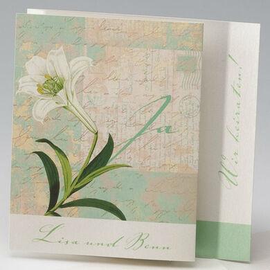 Beispiel: Einladung zu Ihrer Hochzeit, Foto: einladungskarten4you.