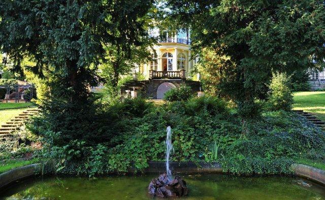 Beispiel: Außenbereich - Brunnen, Foto: Marcolinis Welt.