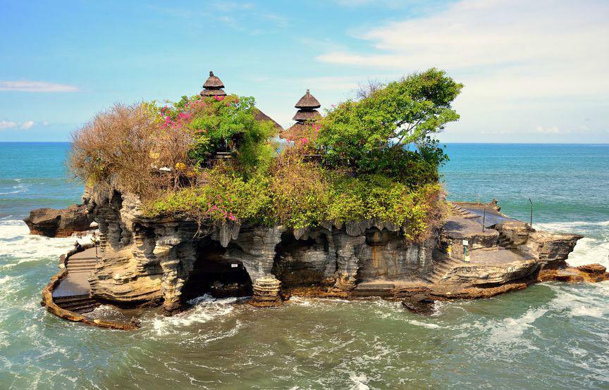 Templo Tanah Lot - Indonesia en tus manos.