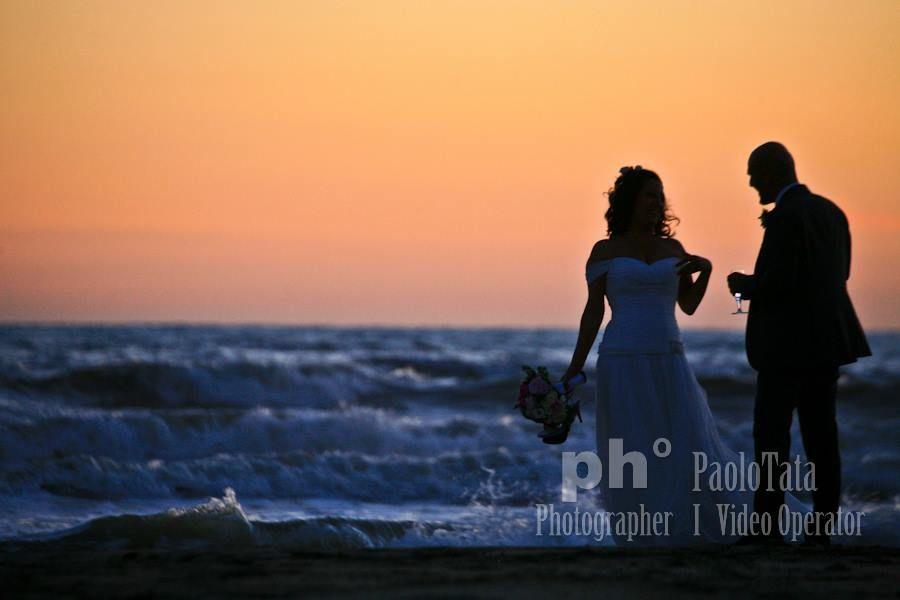 Stefano&Lucia. Matrimonio in spiaggia. Maccarese