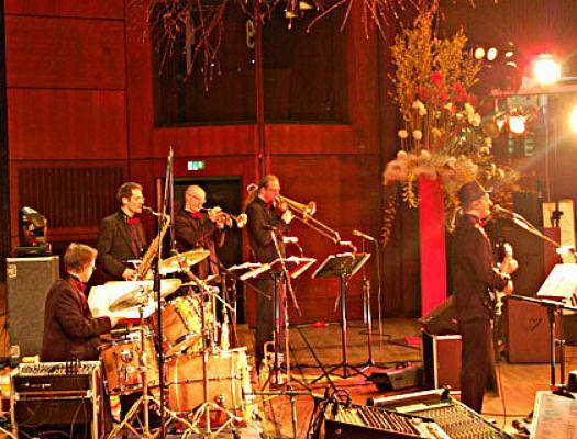 Beispiel: Bandbesetzung, Foto: Klaus Hörmann Band.