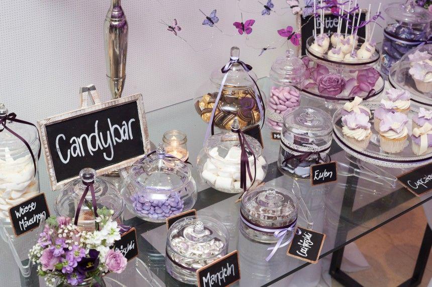 Candybar: lila/violett
