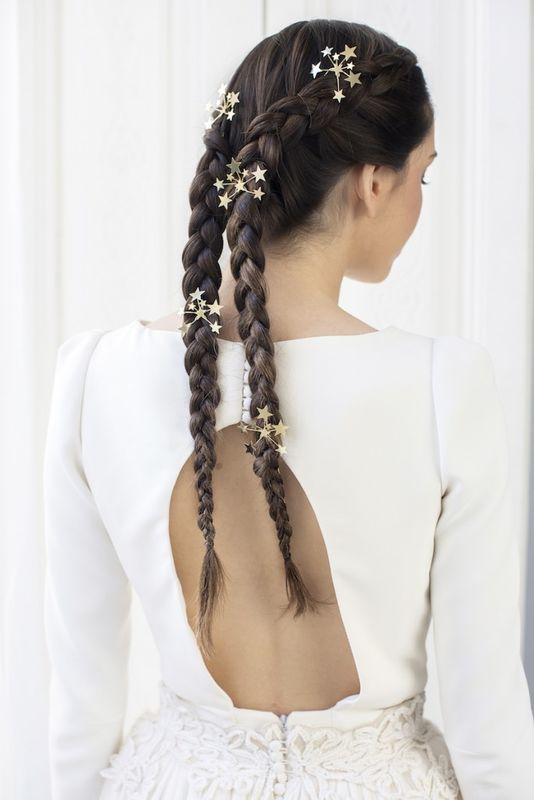 #trenzaHilary by Marieta Hairstyle Foto Senchermés Estrellas Tousette