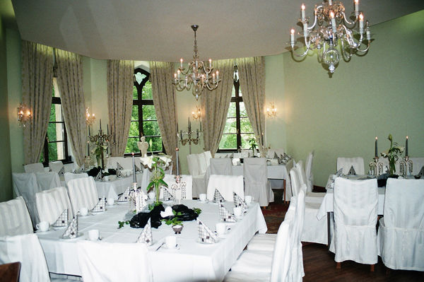 Beispiel: Festsaal, Foto: Schloss Bredenfelde.