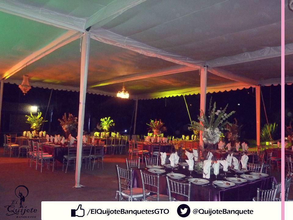 El Quijote Banquetes en León Guanajuato.