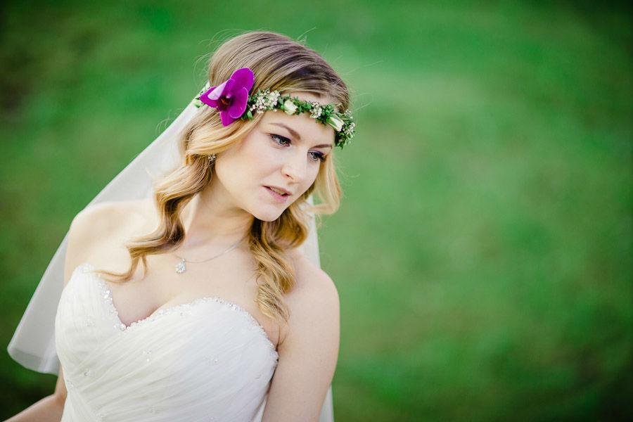Beispiel: Portrait der Braut, Foto: Ingo Cordes.