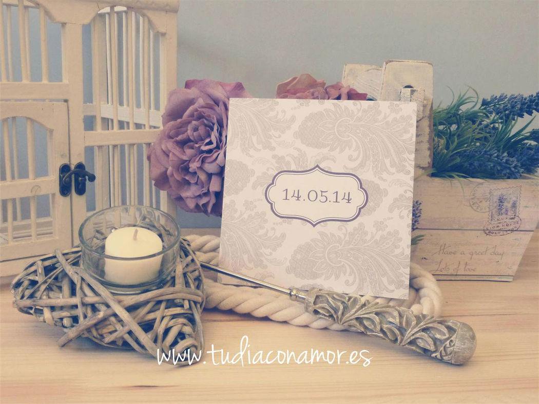 Invitaciones de boda bonitas y elegantes