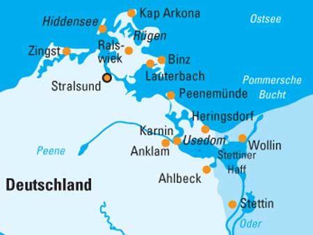 Beispiel: Kreuzfahrt Ostsee, Foto: 1A Vista Reisen.