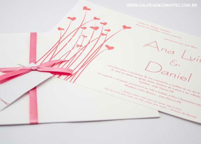 convite de casamento modelo 26