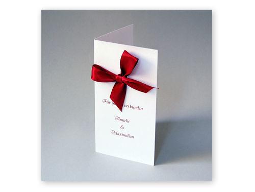Iidividuelle Einladungskarten mit Namen  von Grit May Wolff