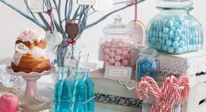 Beispiel: Candy-Bar, Foto: Sweet Candy Table.