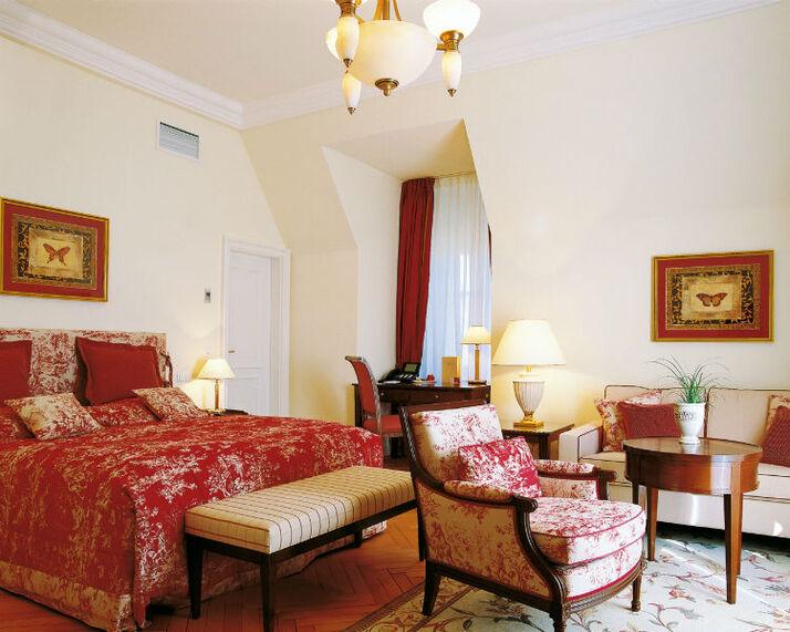 Beispiel: Suite, Foto: Villa Rothschild.