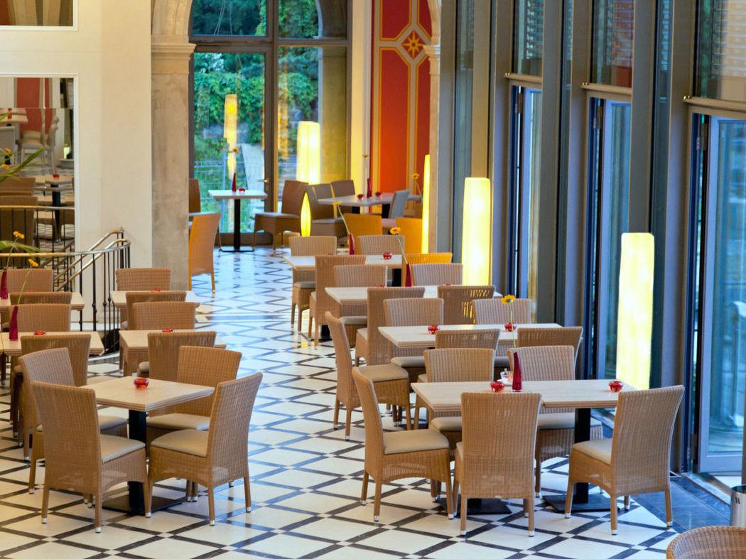 Beispiel: Restaurant, Foto: Lingnerterrassen.