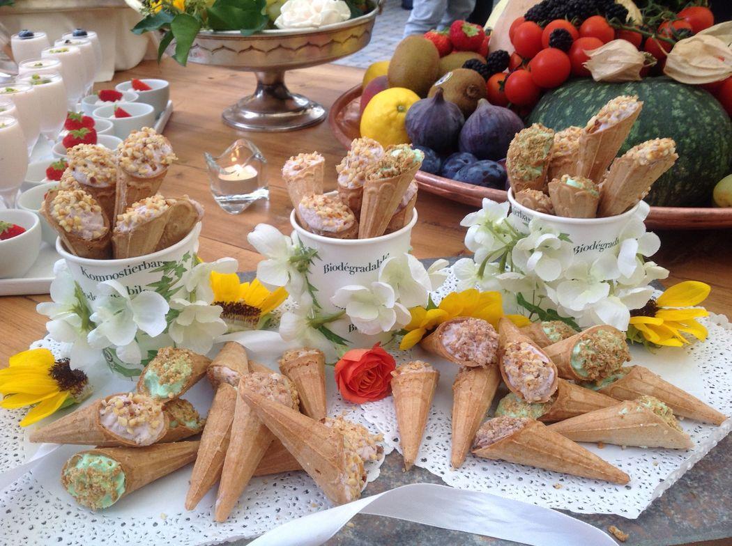 dal buffet di dolci fatti in casa