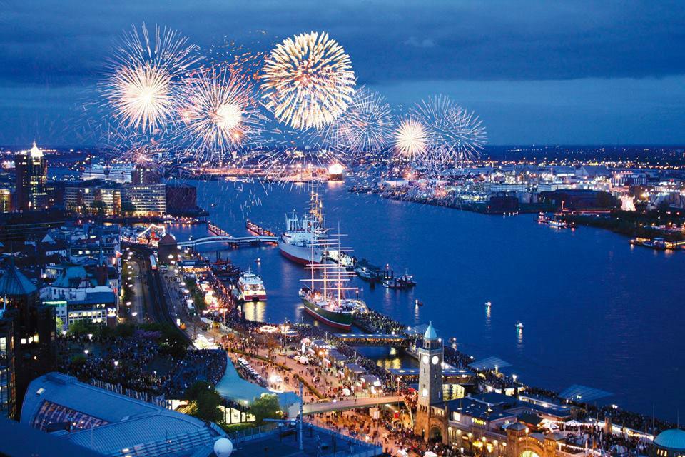 Beispiel: Über den Dächern von Hamburg, Foto: