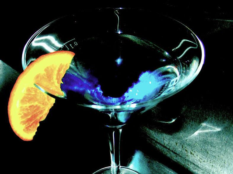 Beispiel: Cocktail, Foto: turmBAR.