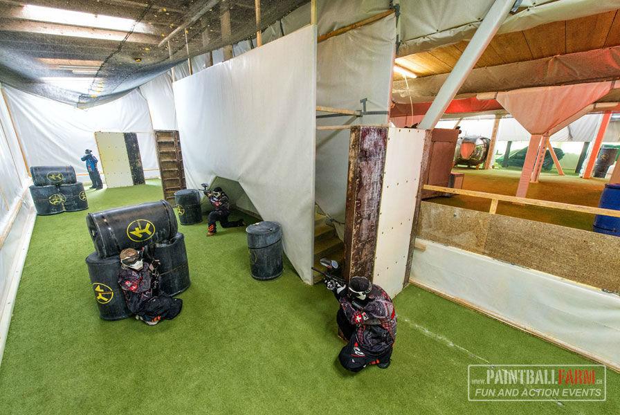 Beispiel: Action und Fun, Foto: Paintballfarm.