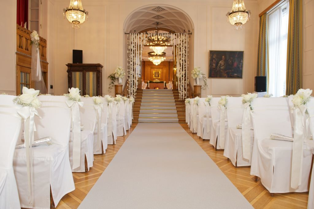 Wedding Ceremony at Kulm Hotel St. Moritz