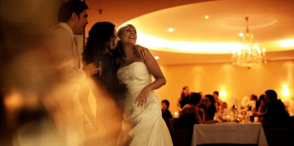 Beispiel: Hochzeitsgesellschaft, Foto: Hotel Werzer's.