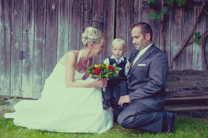 Beispiel: Familienportraits, Foto: Hochzeitsfotografie Neuhofer.