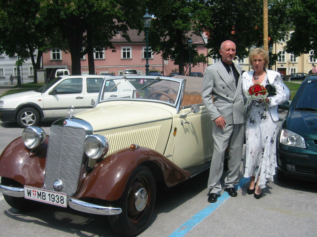 Beispiel: Mercedes, Foto: Oldtimer-Wien.