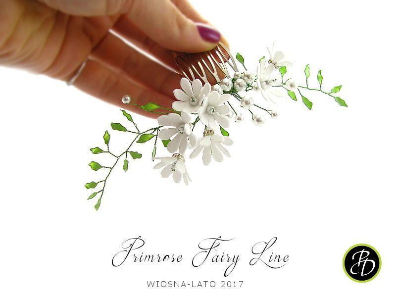 Grzebień ślubny Primrose Fairy Lane