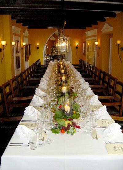 Beispiel: Hochzeitstafel, Foto: allincluded catering.