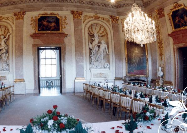 Beispiel: Festsaal, Foto: Jagdschloss Eckartsau.