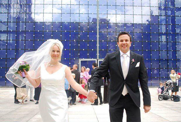 Beispiel: Brautpaar, Foto: Rauschende Feste.