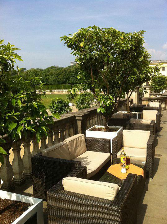Beispiel: Terrasse, Foto: Orangerie.