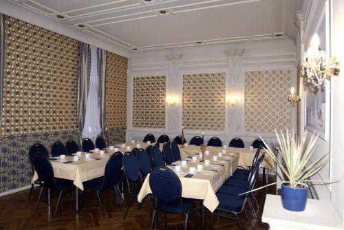 Beispiel: Blauer Salon, Foto: Villa am Fennpfuhl.