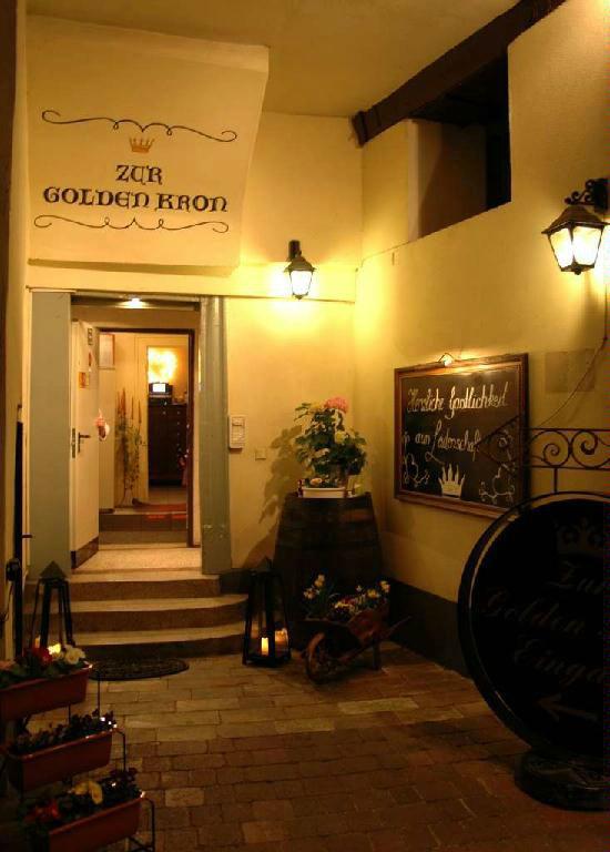 Beispiel: Restaurant - Innenraum, Foto: Zur Golden Kron.