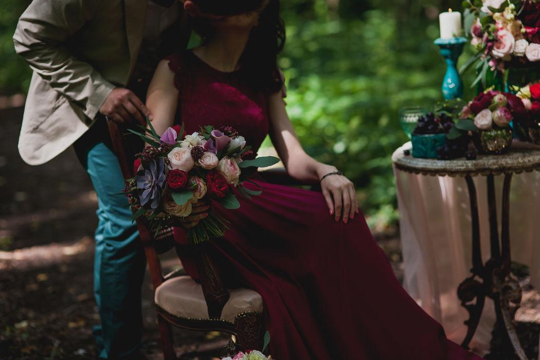 Мастерская флористики Choco wedding