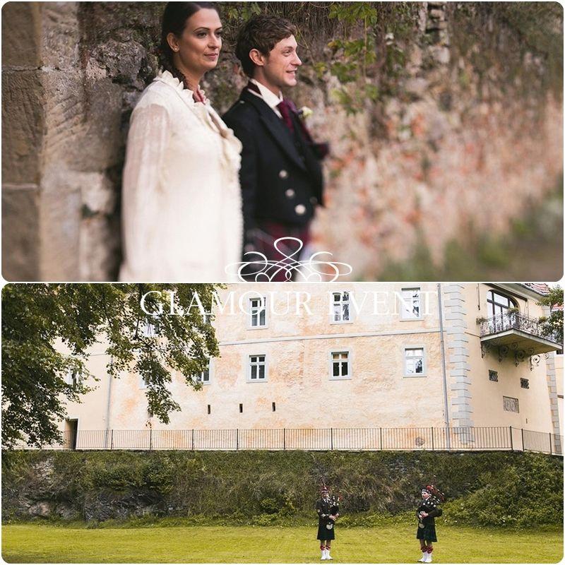 Polsko - szkockie wesele w stylu rustykalnym. fot. Snap Studio Shot